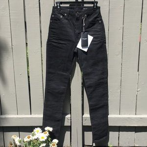 NWT Saint Laurent Dark Skinny Jeans Size 27